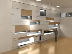 unsoloboton - render - diseño interiores - armario