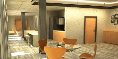 Victor Abad - Diseño Interiores - Render
