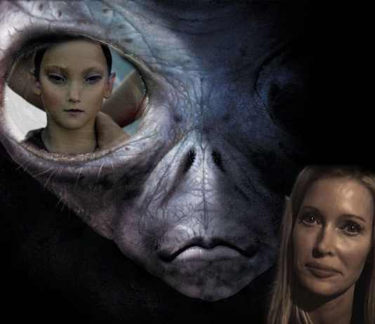 Daughter of extraterrestrials assures that her race invades our planet