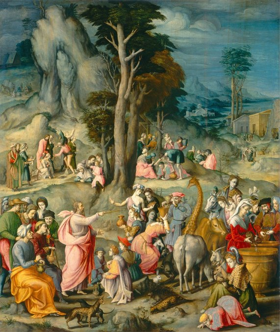Gathering of Manna, Francesco.jpg