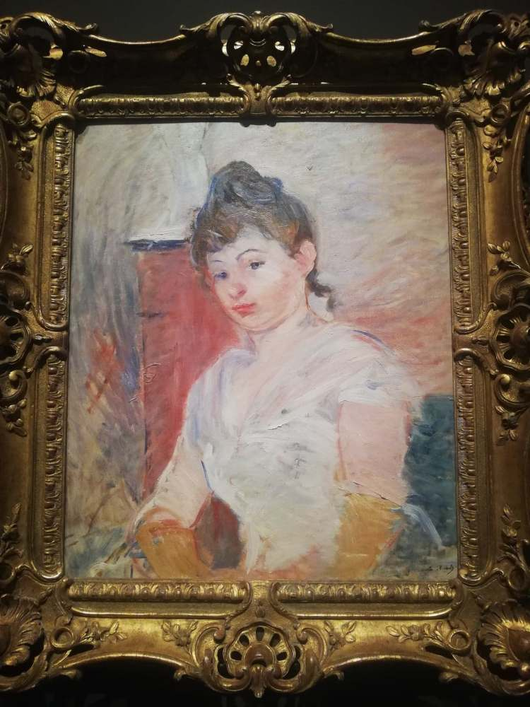 Morisot Article Jeune femme en Blanc, 1891.jpg