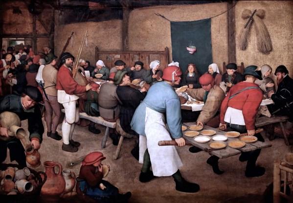 Bruegel - Les noces