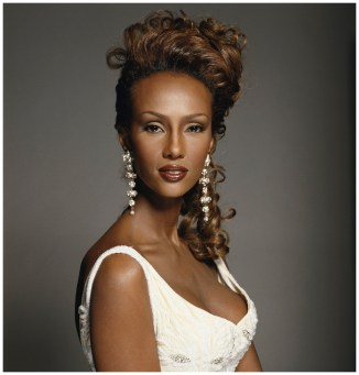 Somalian supermodel Iman, 1994. (Photo by Terry O'Neill/Getty Images)