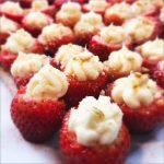 Cream Cheese-Filled Strawberries
