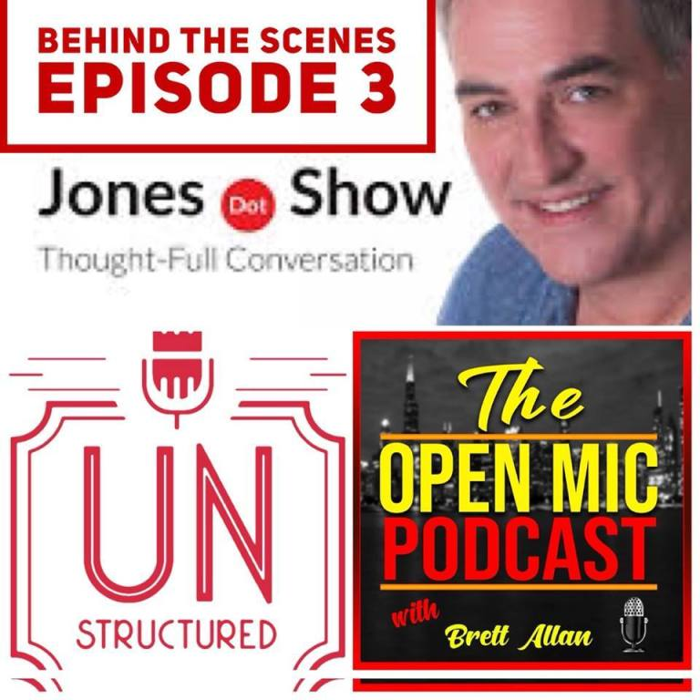 123 - Behind the Scenes UnstructuredPod Unstructured interviews - Dynamic Informal Conversations with unique wide-ranging and well-researched interviews hosted by Eric Hunley