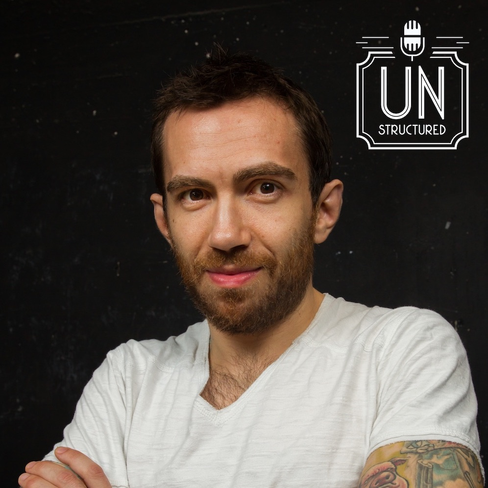 062 - Jamie Kilstein UnstructuredPod Unstructured interviews - Dynamic Informal Conversations with unique wide-ranging and well-researched interviews hosted by Eric Hunley