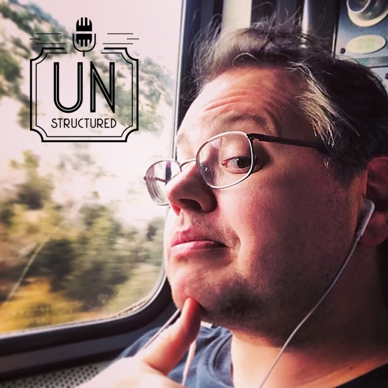 132 - Jason DeFillippo UnstructuredPod Unstructured interviews - Dynamic Informal Conversations with unique wide-ranging and well-researched interviews hosted by Eric Hunley