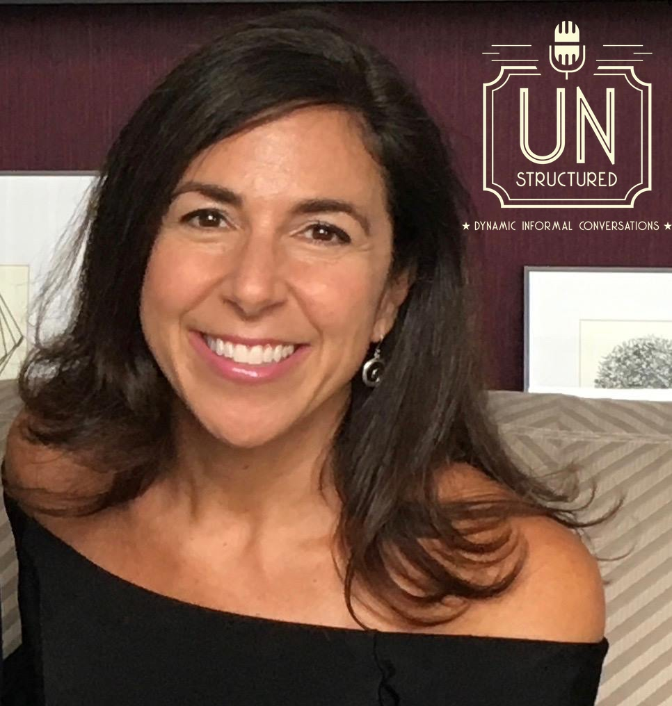 063 - Kara Mayer Robinson - Unique wide-ranging and well-researched unstructured interviews hosted by Eric Hunley UnstructuredPod Dynamic Informal Conversations