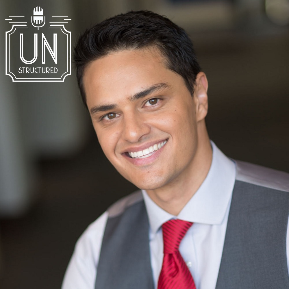104 - Kasim Aslam UnstructuredPod Unstructured interviews - Dynamic Informal Conversations with unique wide-ranging and well-researched interviews hosted by Eric Hunley