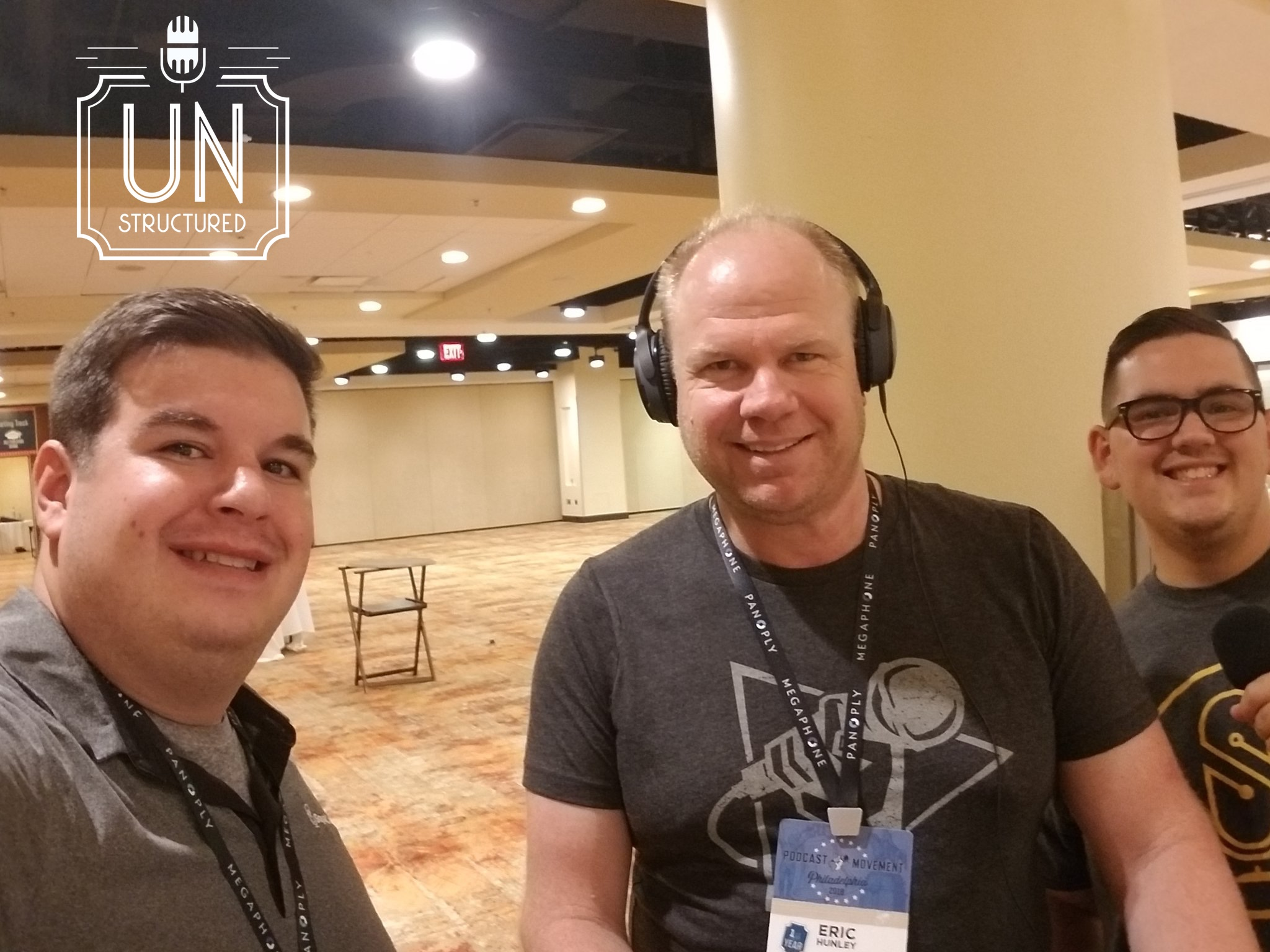 044 - Squadcast UnstructuredPod Unstructured interviews - Dynamic Informal Conversations with unique wide-ranging and well-researched interviews hosted by Eric Hunley