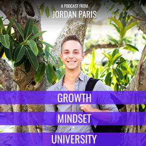 Eric Hunley's appearances on Growth Mindset University with Jordan Paris a 21-year-old author and serial entrepreneur