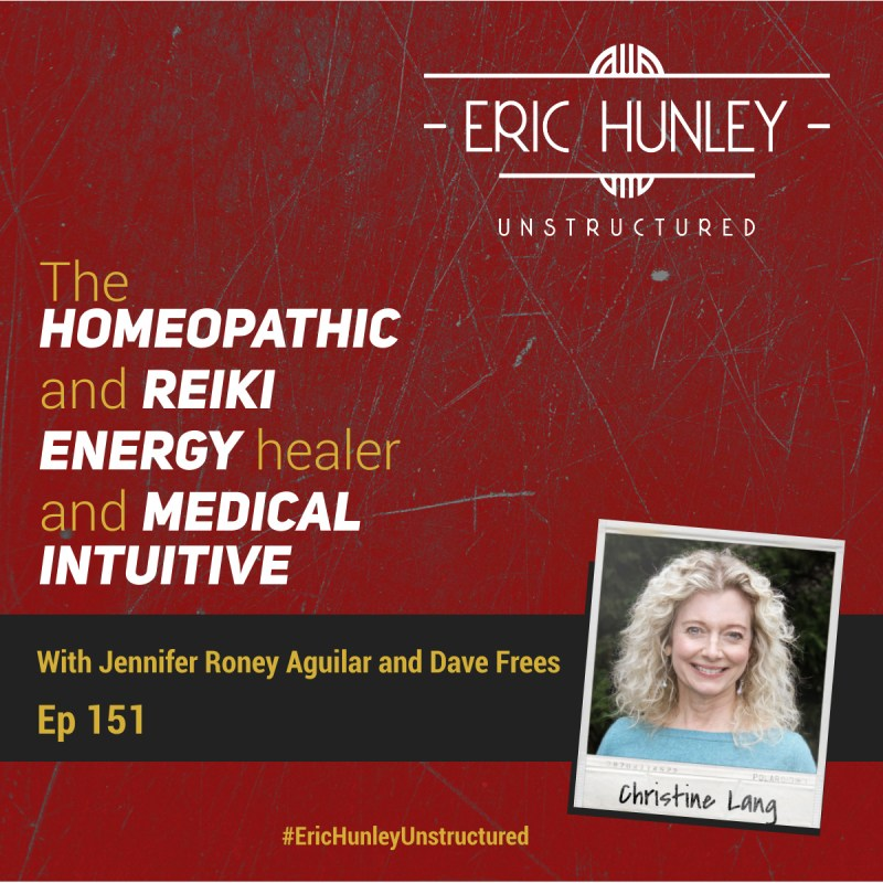 Eric Hunley Unstructured Podcast - 151 Christine Lang Square Post