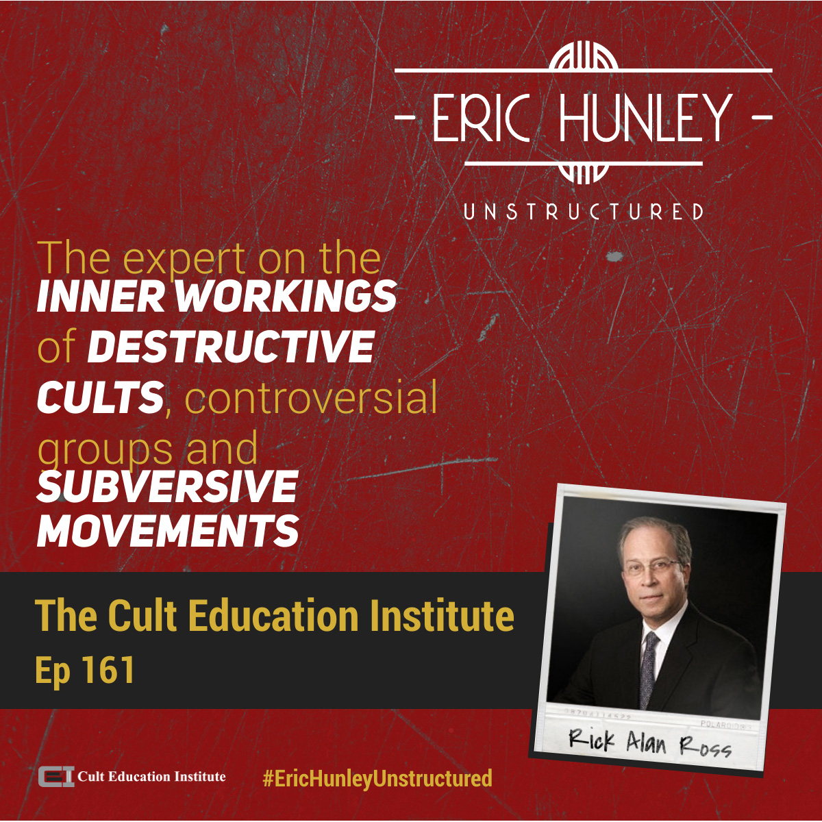 Eric Hunley Unstructured Podcast - 161 Rick Alan Ross Square Post