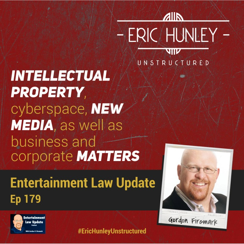 Eric Hunley Unstructured Podcast - 179 Gordon Firemark Square Post