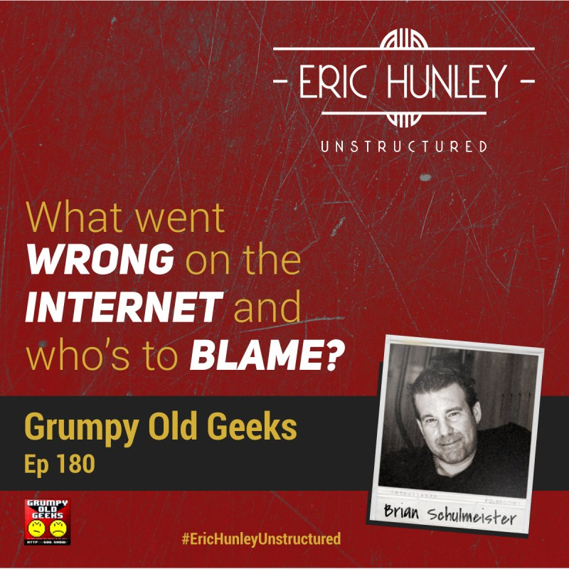 Eric Hunley Unstructured Podcast - 180 Brian Schulmeister Square Post