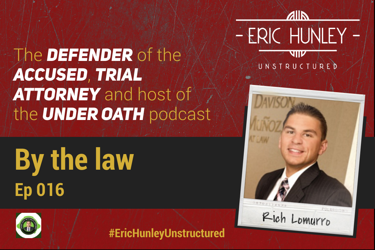 Eric Hunley Unstructured Podcast - 016 Rich Lomurro Square Post