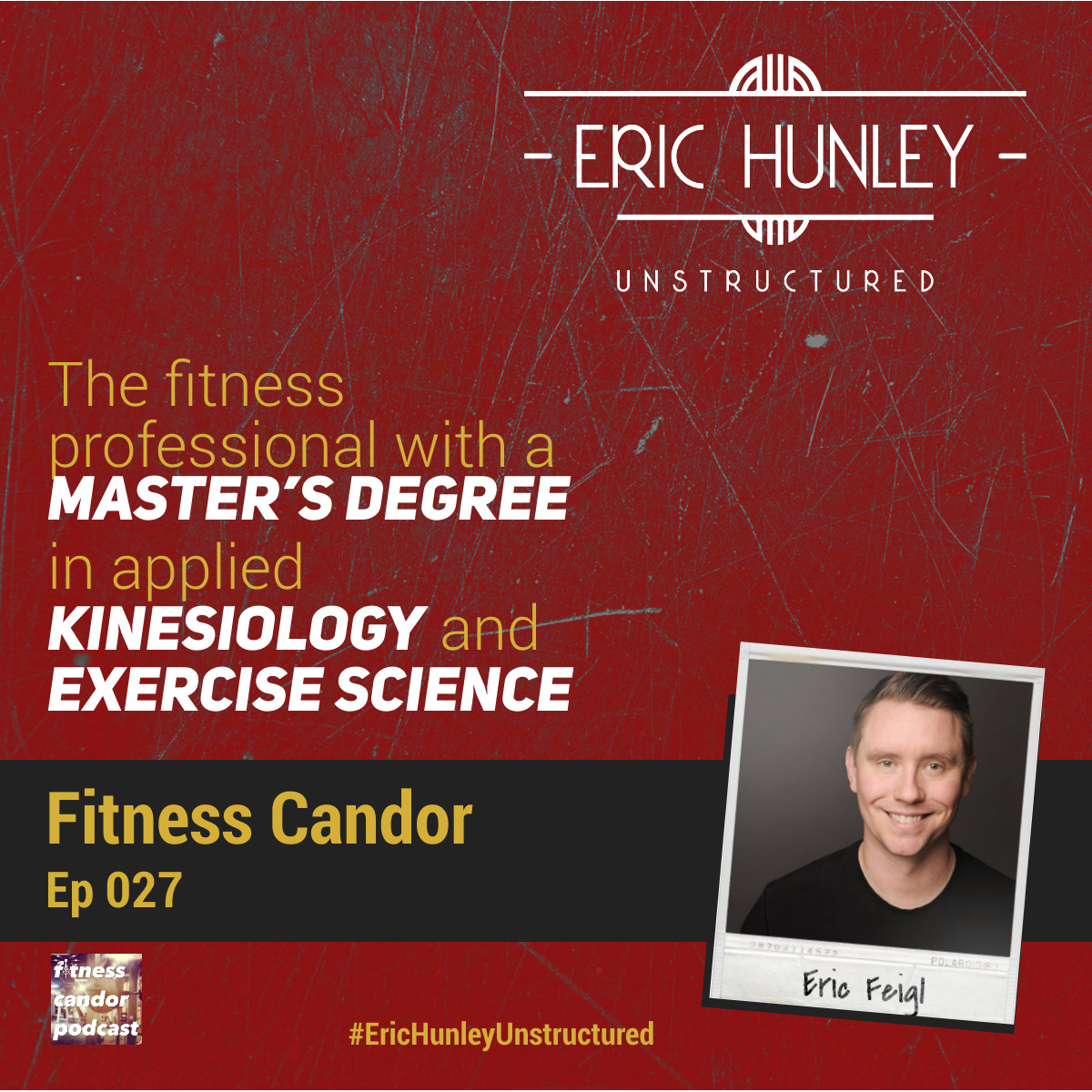Eric Hunley Unstructured Podcast - 027 Eric Feigl Square Post
