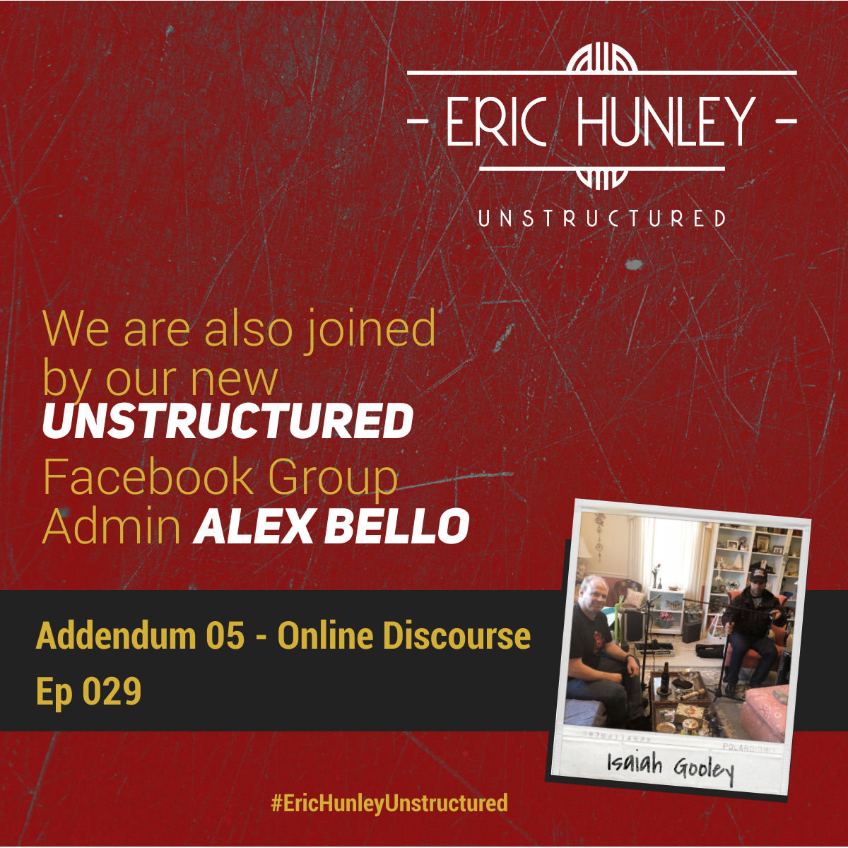 Eric Hunley Unstructured Podcast - 029 Addendum 05 Square Post