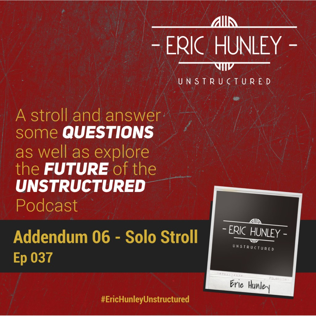 Eric Hunley Unstructured Podcast - 037 Addendum 06 Square Post