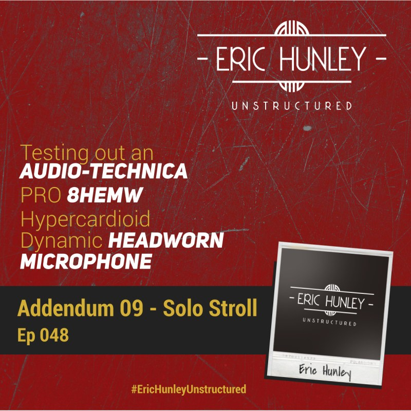 Eric Hunley Unstructured Podcast - 048 Addendum 09 Square Post
