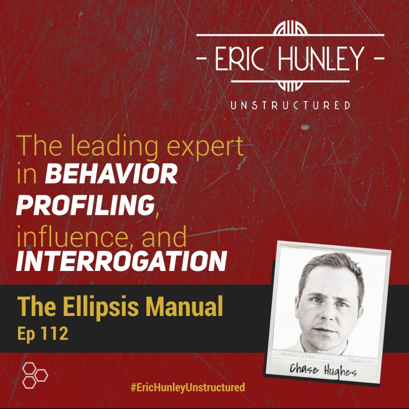 Eric Hunley Unstructured Podcast - 112 Chase Hughes Square Post
