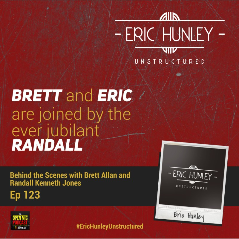 Eric Hunley Unstructured Podcast - 123 Behind the Scenes Square Post