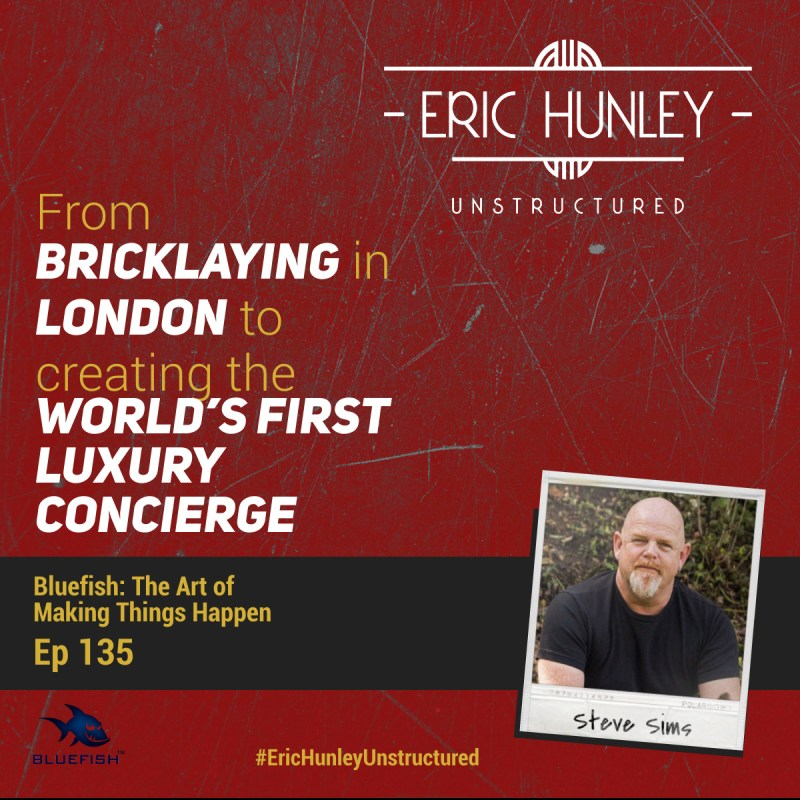 Eric Hunley Unstructured Podcast - 135 Steve Sims Square Post