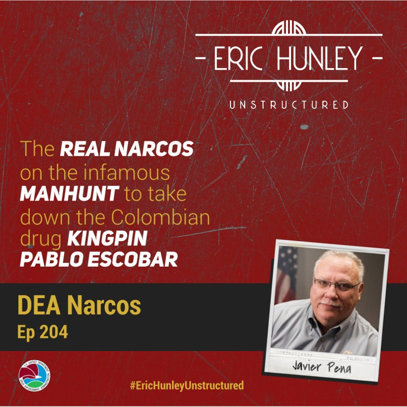 Eric Hunley Unstructured Podcast - 204 Javier Peña Square Post