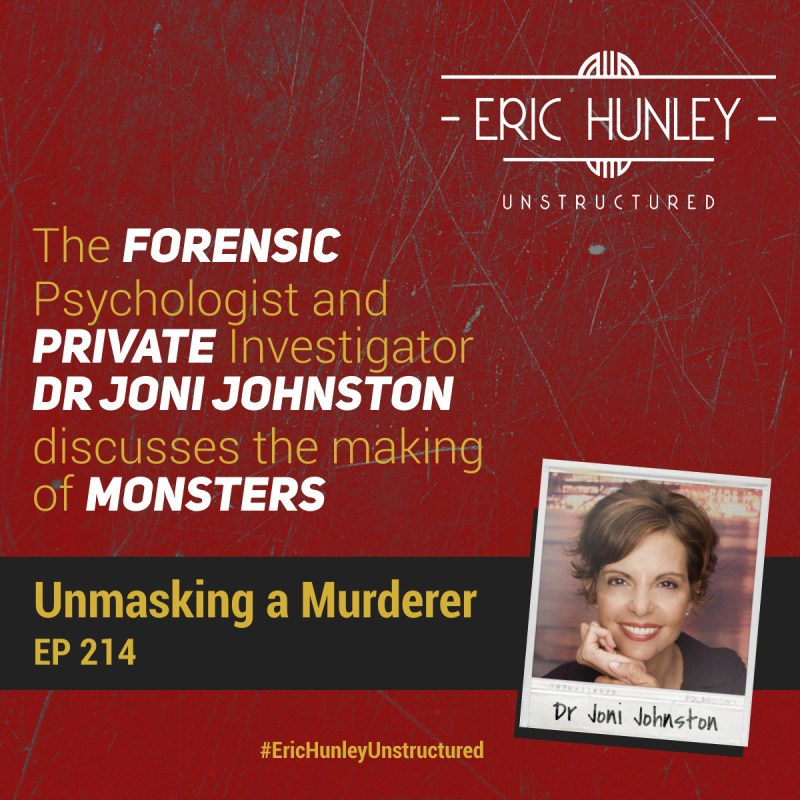 Eric Hunley Unstructured Podcast - 214 Dr Joni Johnston Square Post