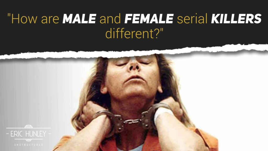How are male and female serial killers different