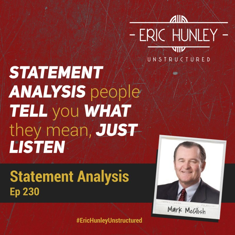 Eric Hunley Unstructured Podcast - 230 Mark McClish Square Post