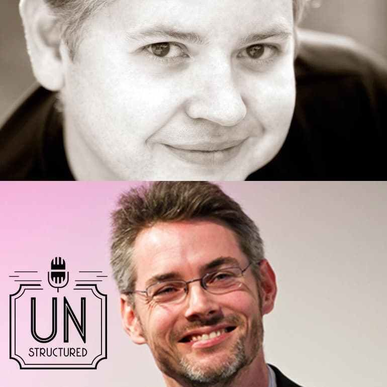 164 - Jason DeFillippo and James Cridland - Unique wide-ranging and well-researched unstructured interviews hosted by Eric Hunley UnstructuredPod Dynamic Informal Conversations