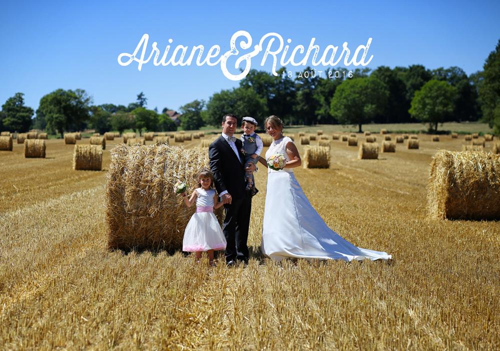 Mariage 2016 : Ariane & Richard