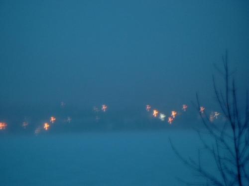 Night Lights across the River