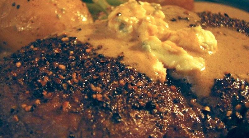 Steak CC for Gerry's Birthday