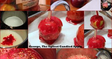 George the ugliest candied apple