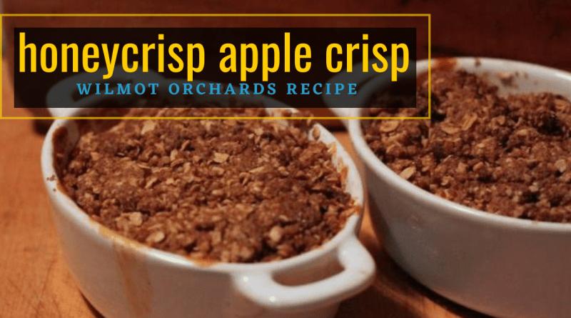 Honeycrisp Apple Crisp Recipe
