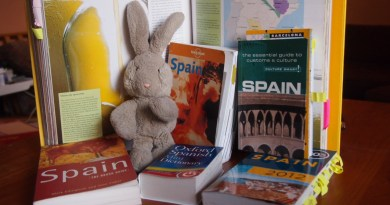 Travel Bunny Prepping for Spain