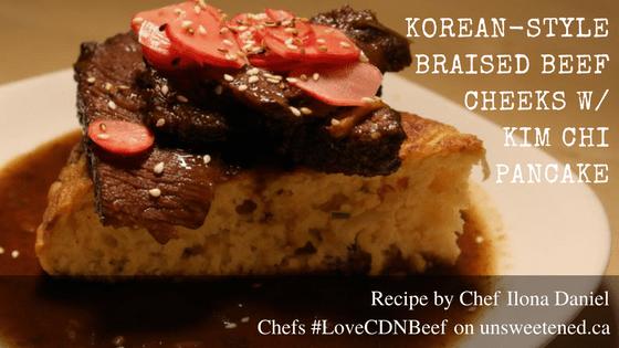 Chef Ilona Daniel S Korean Style Braised Beef Cheeks With Kimchi