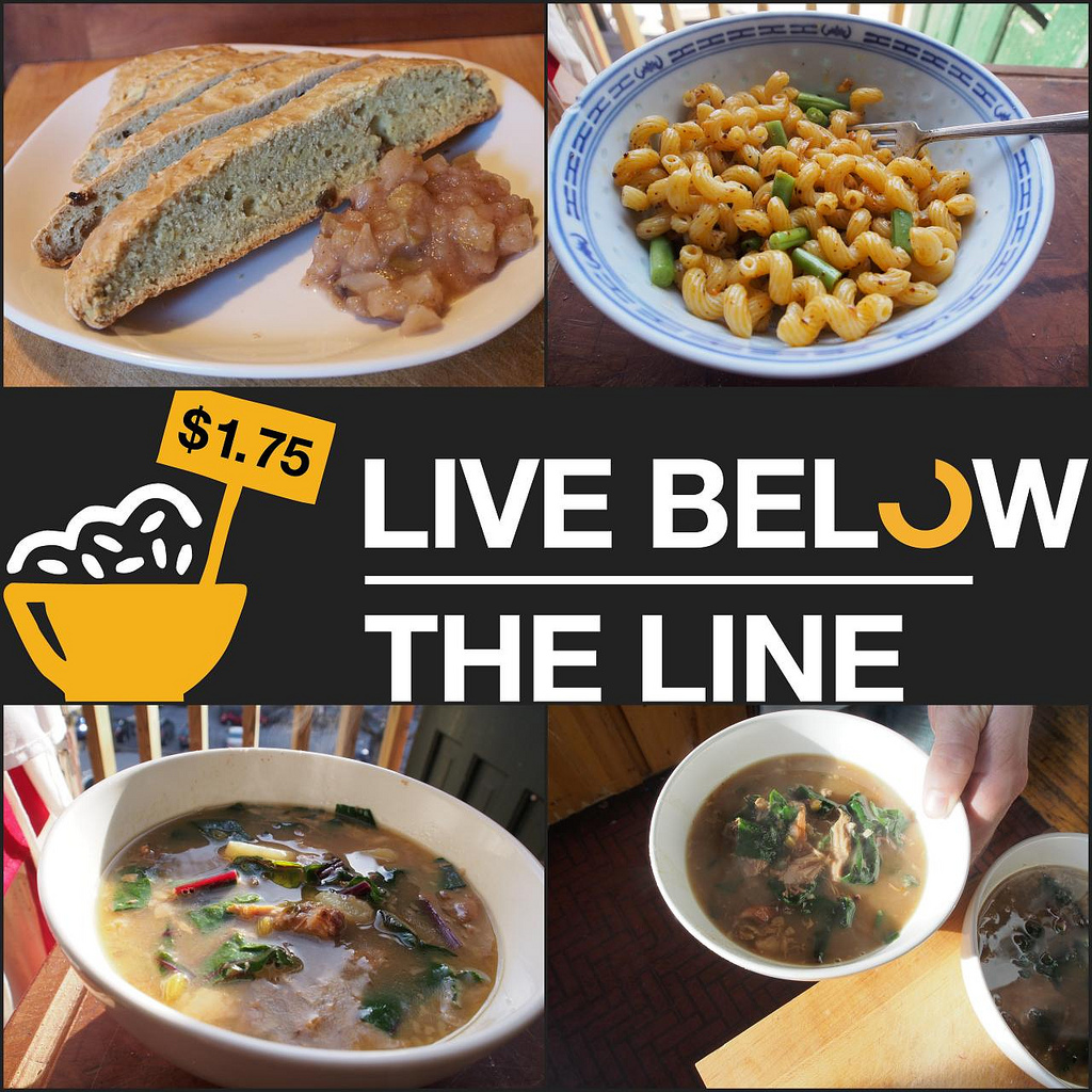 Day 4 - Best Food Day - Live Below The Line