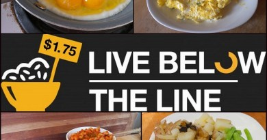Live Below the Line - Day 5 food