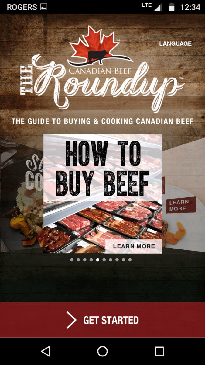The Roundup App from Canadian Beef #CDNbeefapp