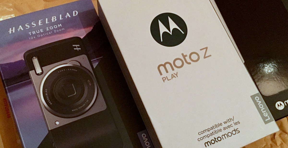 First Impressions of the Moto Z Play & MotoMods