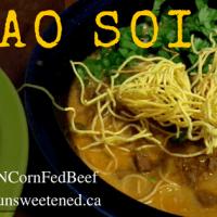 Khao Soi - Ontario Corn Fed Beef