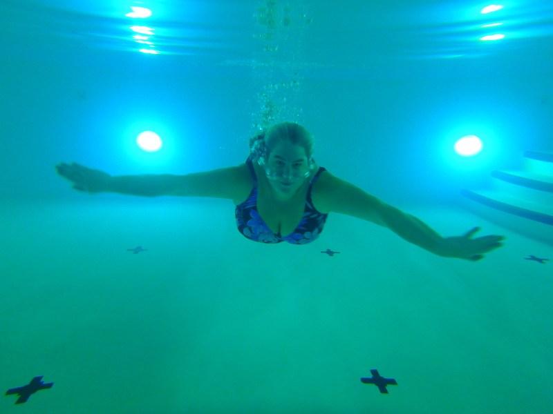 Swimming at Casino Rama