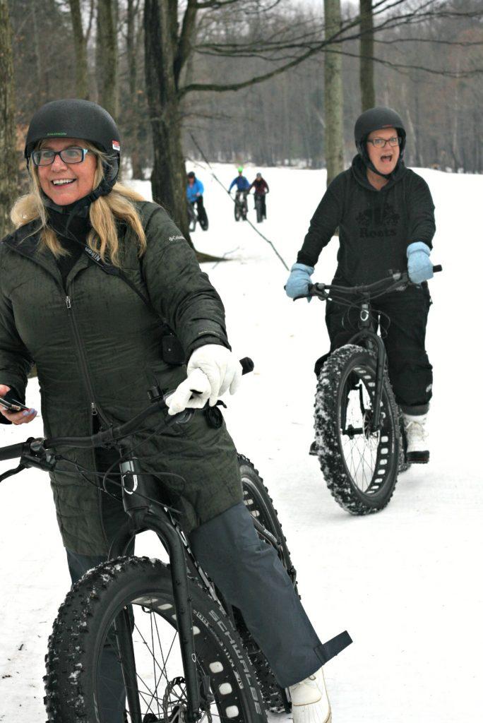 lgm linda and julie biking by Julie Dyer