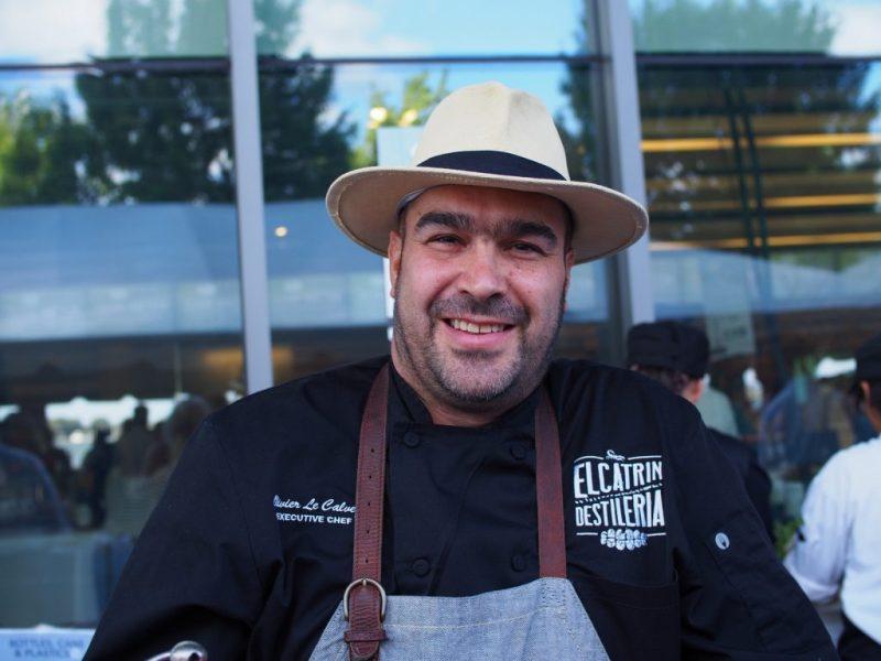 Chef Olivier Le Calvez of El Catrin