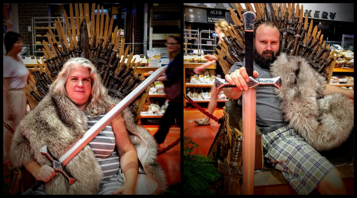 Game of Thrones or Dinner is Coming?