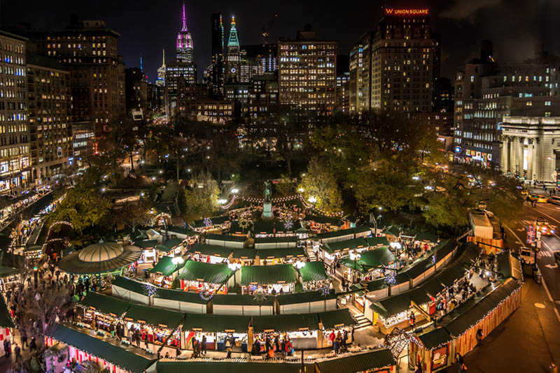 13 NYC Holiday Markets To Check Out This 2017 Holiday