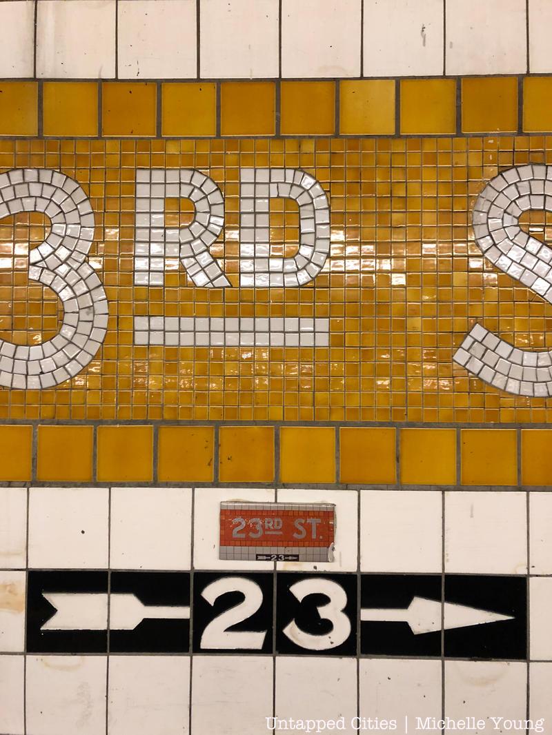 mini subway tiles mimic real nyc subway